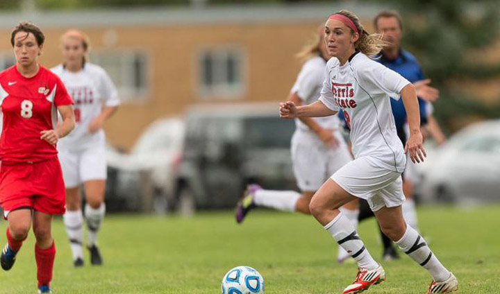 Overtime Goal Lifts Ferris State Women S Soccer To First Victory On