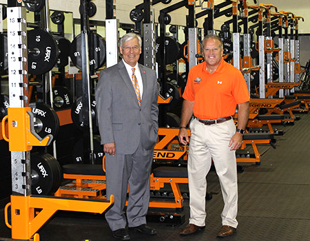 Ohio Northern athletics department renovates weight room in ONU Sports Center