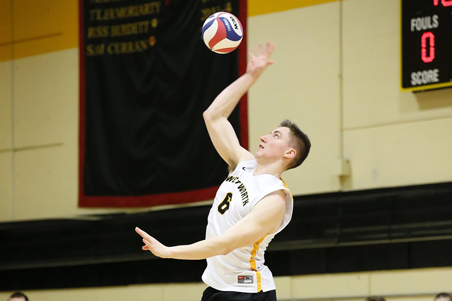 Men's Volleyball Falls to Springfield