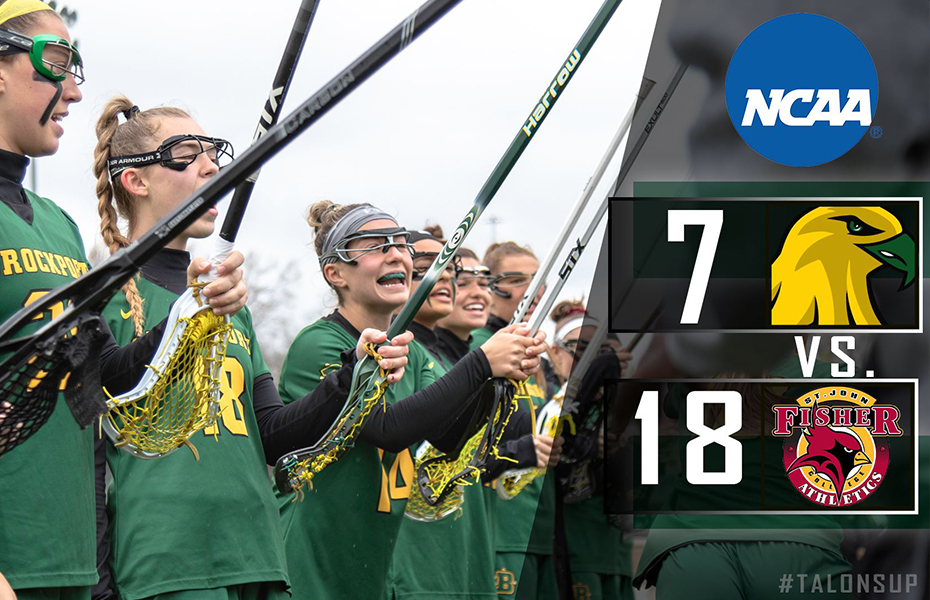 No.15/20 Golden Eagles Eliminated From NCAA Tournament by No.11 St. John Fisher