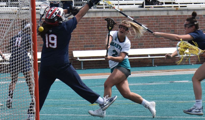 Coastal's Alexander Sets All-Time Career Goals Record in Win over UCONN