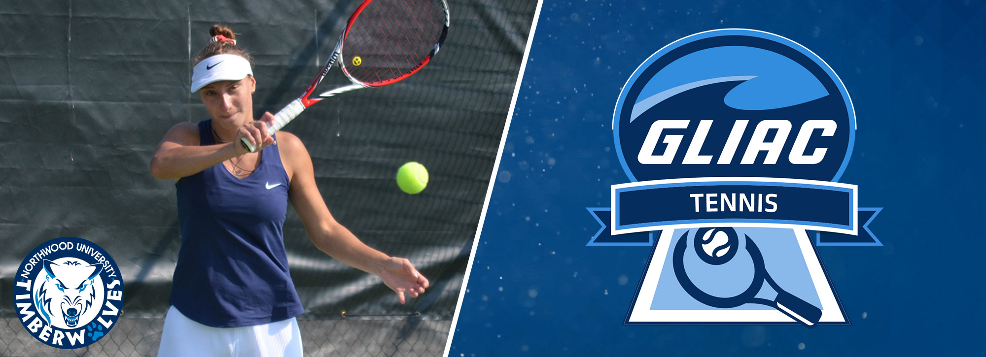 Northwood's Riabchuk Tabbed GLIAC Women's Tennis Athlete of the Week
