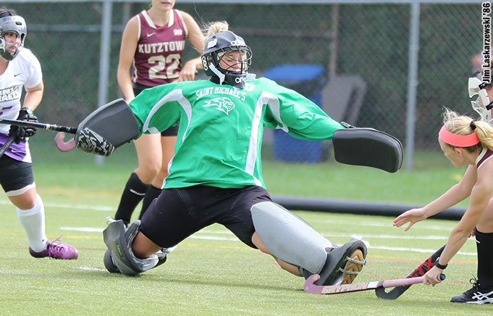 Field Hockey Suffers 2-0 Setback to Molloy During NE10 Opener