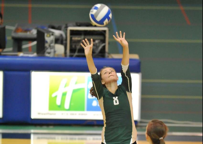 Volleyball Falls to MCLA in Five Sets