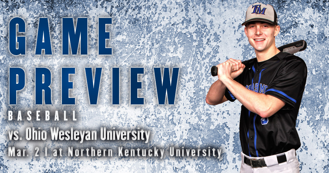 Baseball Hosts OWU for First Home Game of the Season