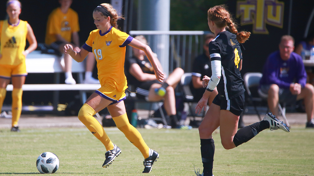 Taylor's two goals help push Tech to win in home opener