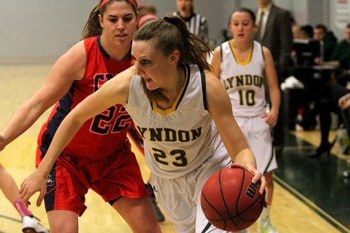 Lyndon men, women end losing streaks