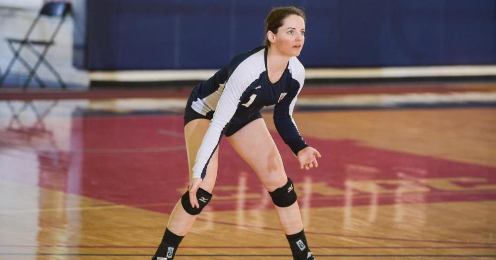 Volleyball Kicks Off Season at Assumption Tournament