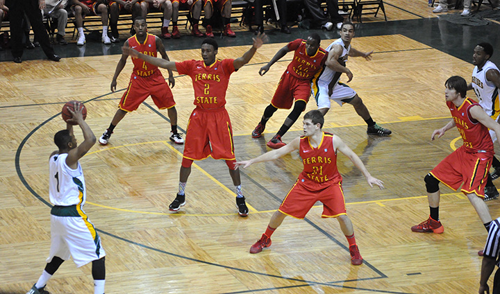 Ferris State Drops GLIAC Matchup To Wayne State In The Motor City