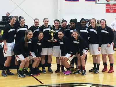 Women's Basketball Edges Gallaudet, Plays For NEAC Title Sunday