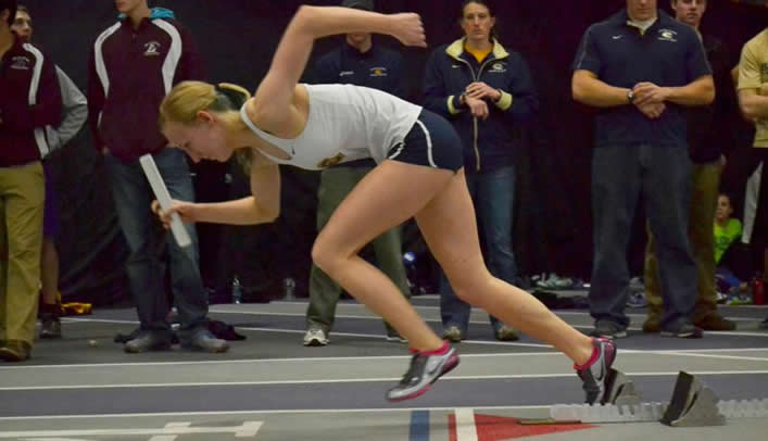 Women's Outdoor Track & Field Competes in Three Different States