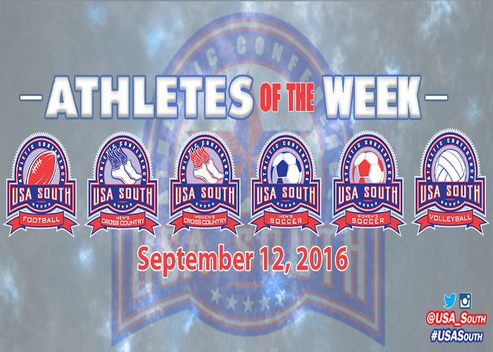 Bailey and Puller named USA South Athletes of the Week
