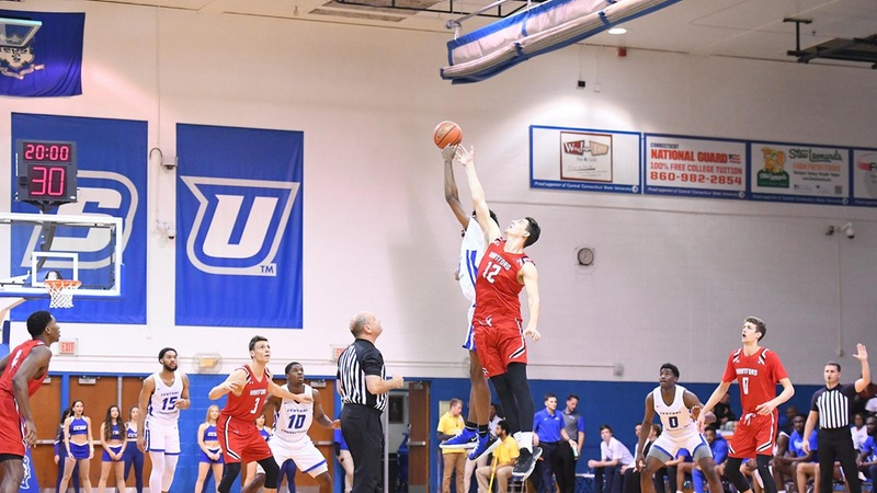 Alumni Day Highlights Basketball Meeting Against Bryant Saturday