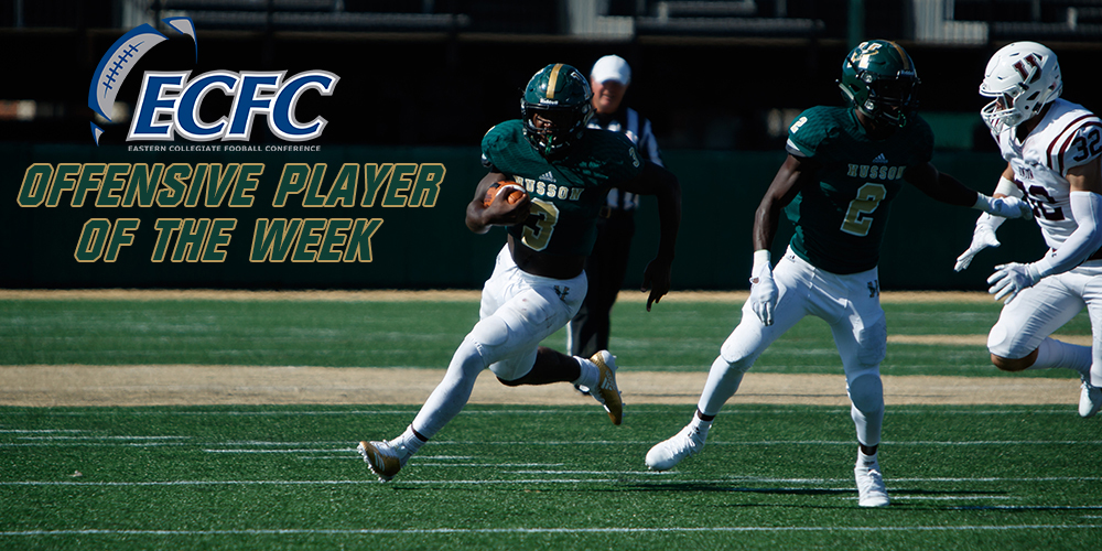 John Smith Named ECFC Offensive Player of the Week