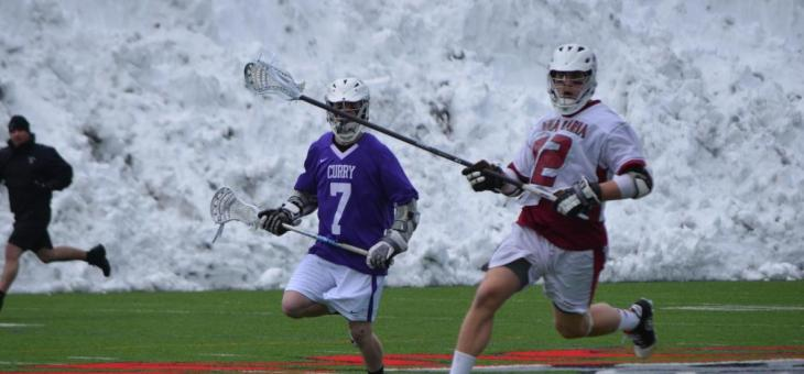 AMCATS Fall to Curry College in Men's Lacrosse Action
