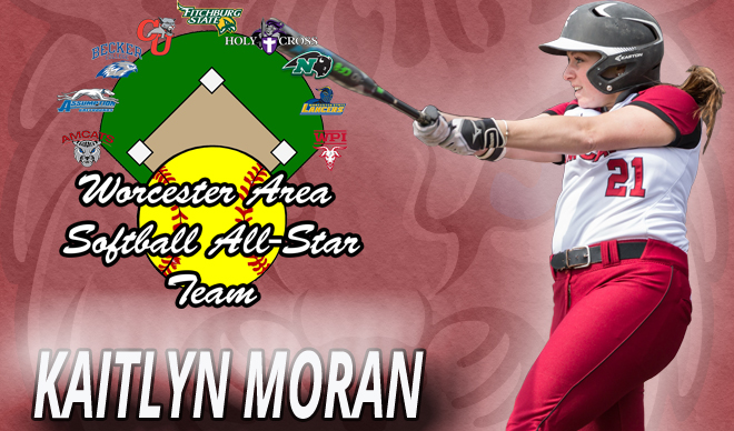 Moran Named to Worcester Area Softball All-Star Second Team