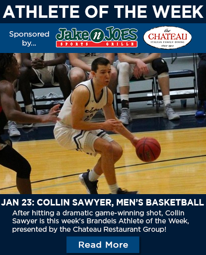 Collin Sawyer '20- Men's Basketball - Jan. 23