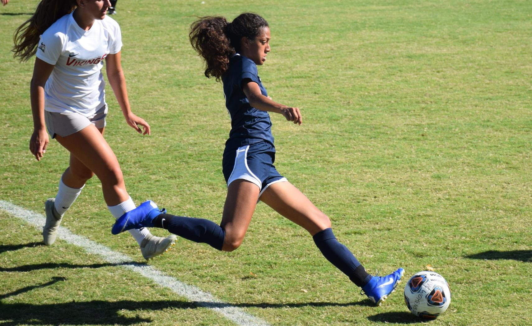 Women's soccer team can't get past Long Beach City