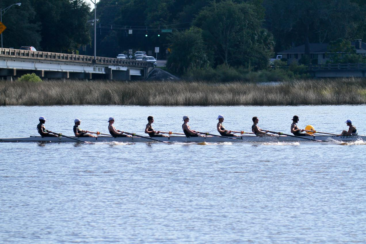 Men's Rowing Capture No. 1 Times in Every Event at Stetson Fall Race