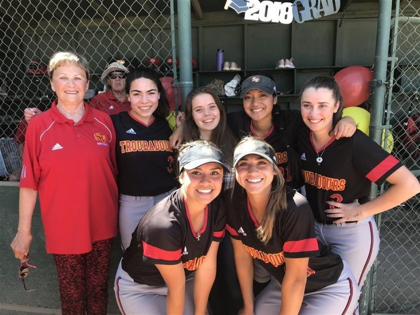 Softball Clinches Section Playoff Berth