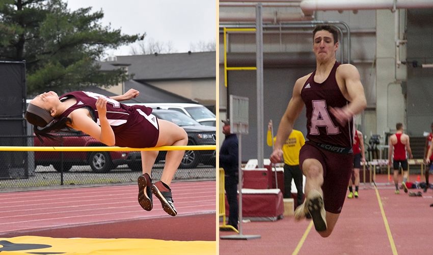 Hearth and Herschenberger named MIAA Field Athletes of the Week
