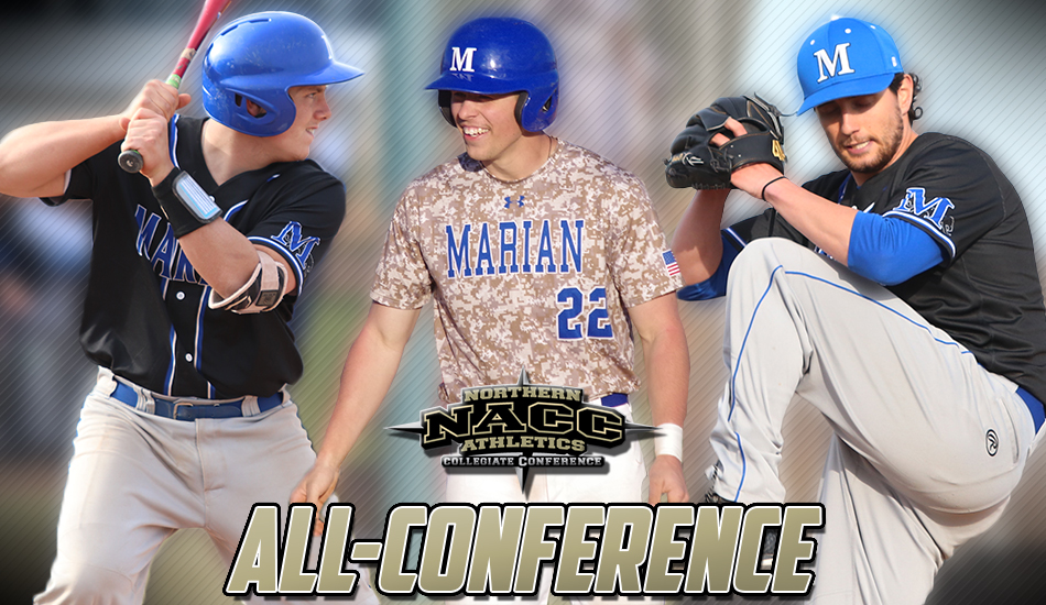 Baseball All-NACC graphic.