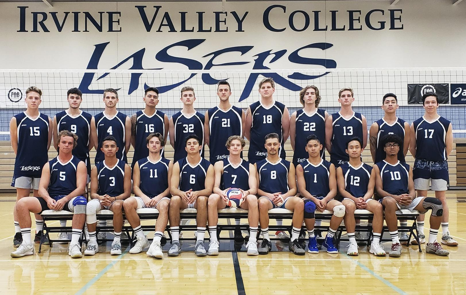 Men's volleyball team splits matches at Orange Coast Quad