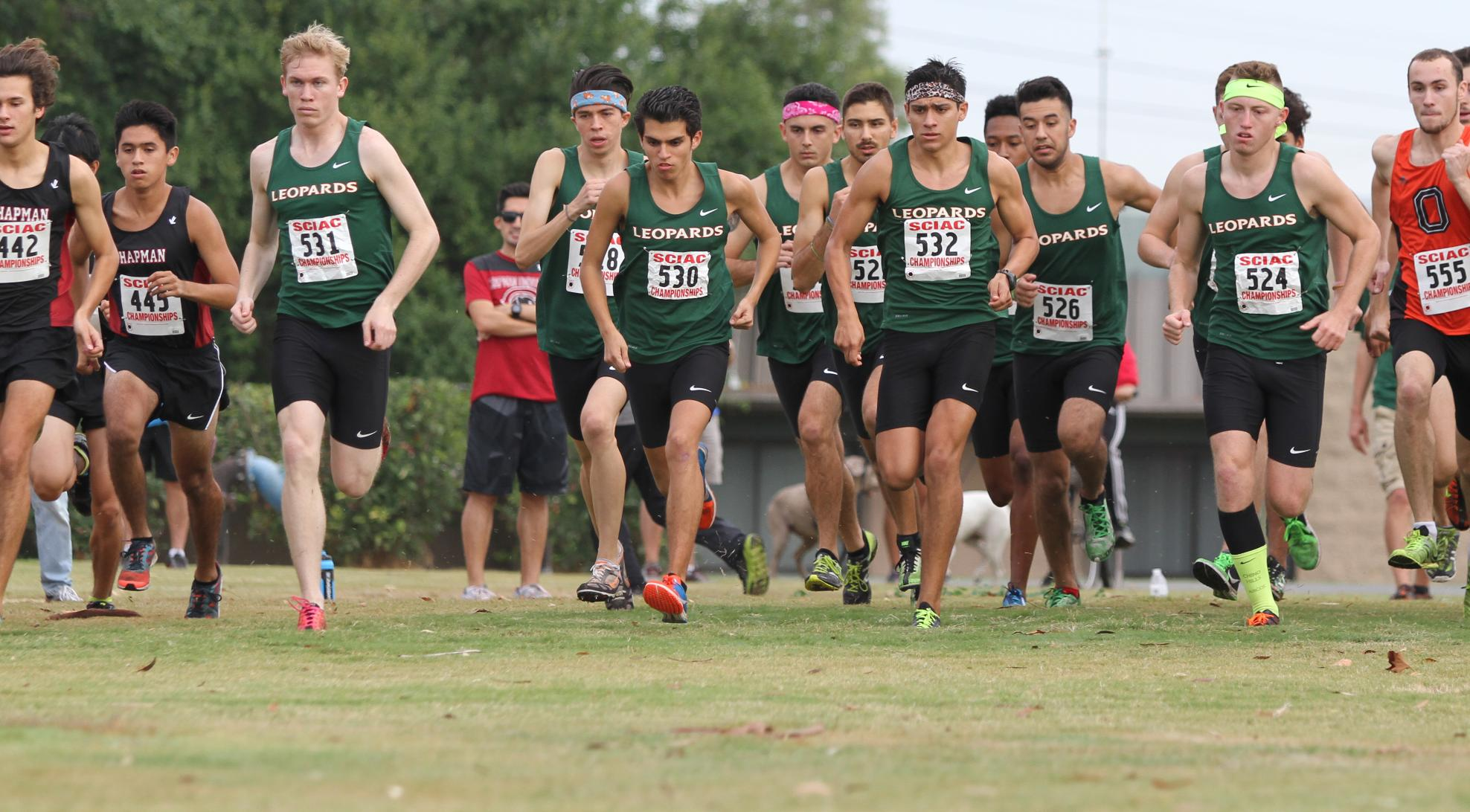 Martinez, Johnny lead Men's Cross Country at SCIAC Championship