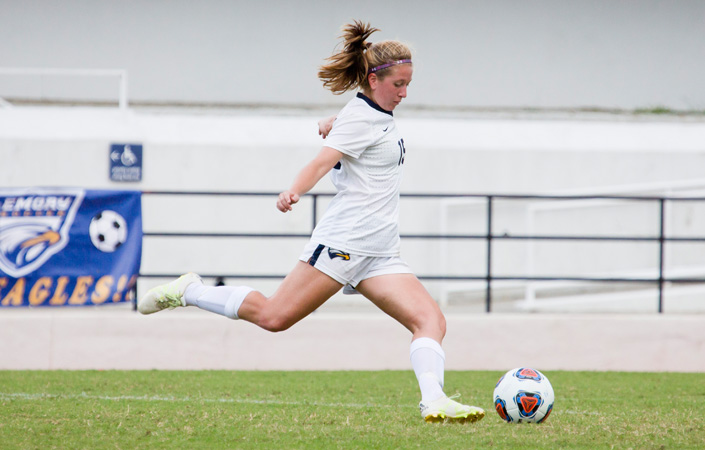 Late Strike Gives Piedmont Win over Emory Women's Soccer