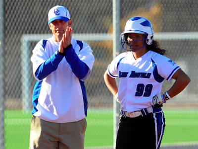 Head Softball Coach Jeff Franquet Coaches a Rare Double
