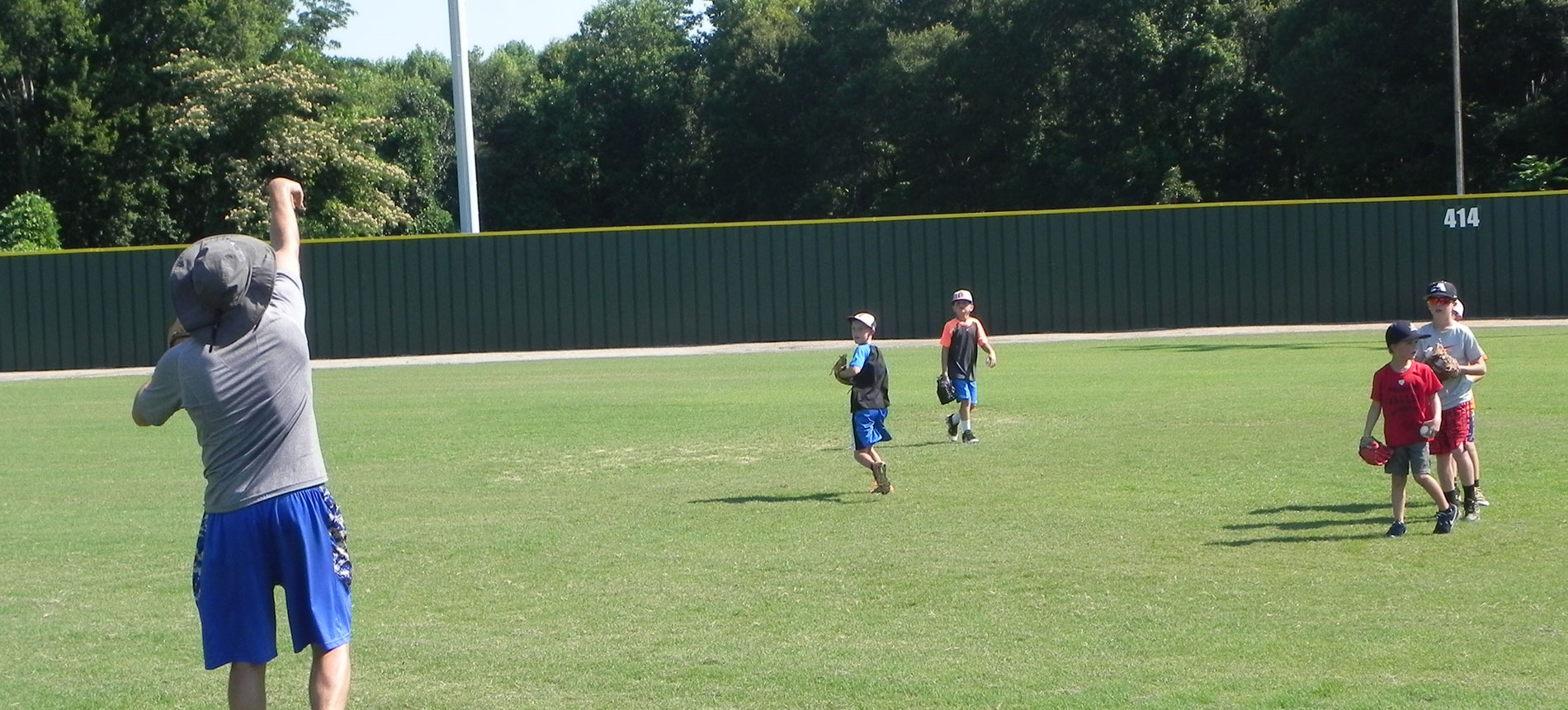 Second Week of Baseball Camp in Full Swing