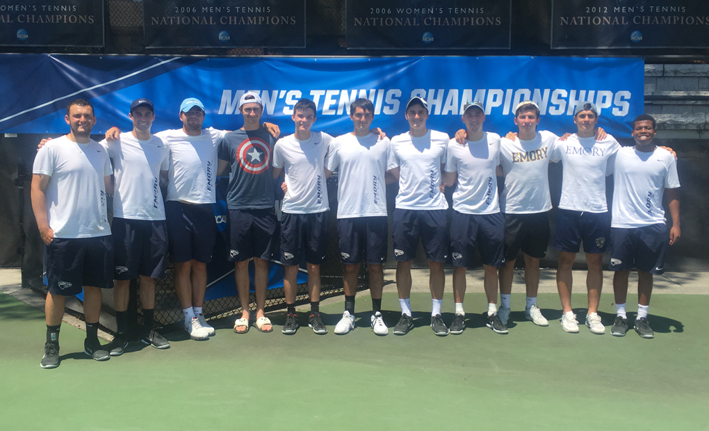 Men's Tennis Down NC Wesleyan, 5-0, to Advance to NCAA Quarterfinals