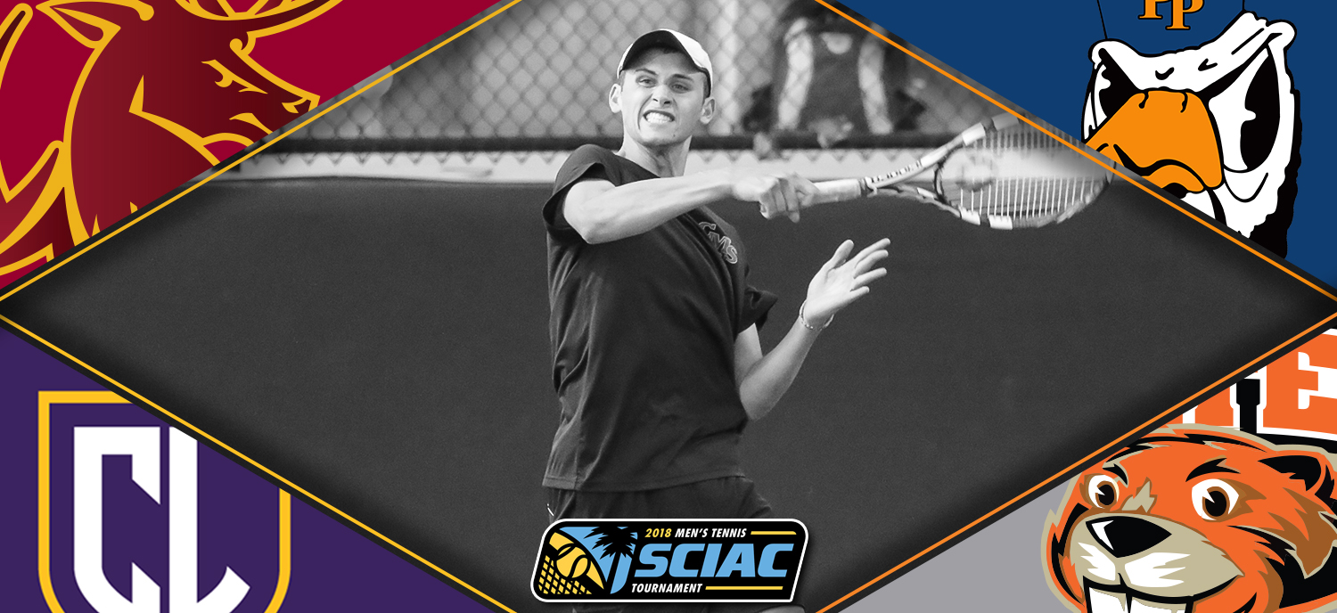 Oscar Burney and the Stags begin the SCIAC Tournament on Friday afternoon.