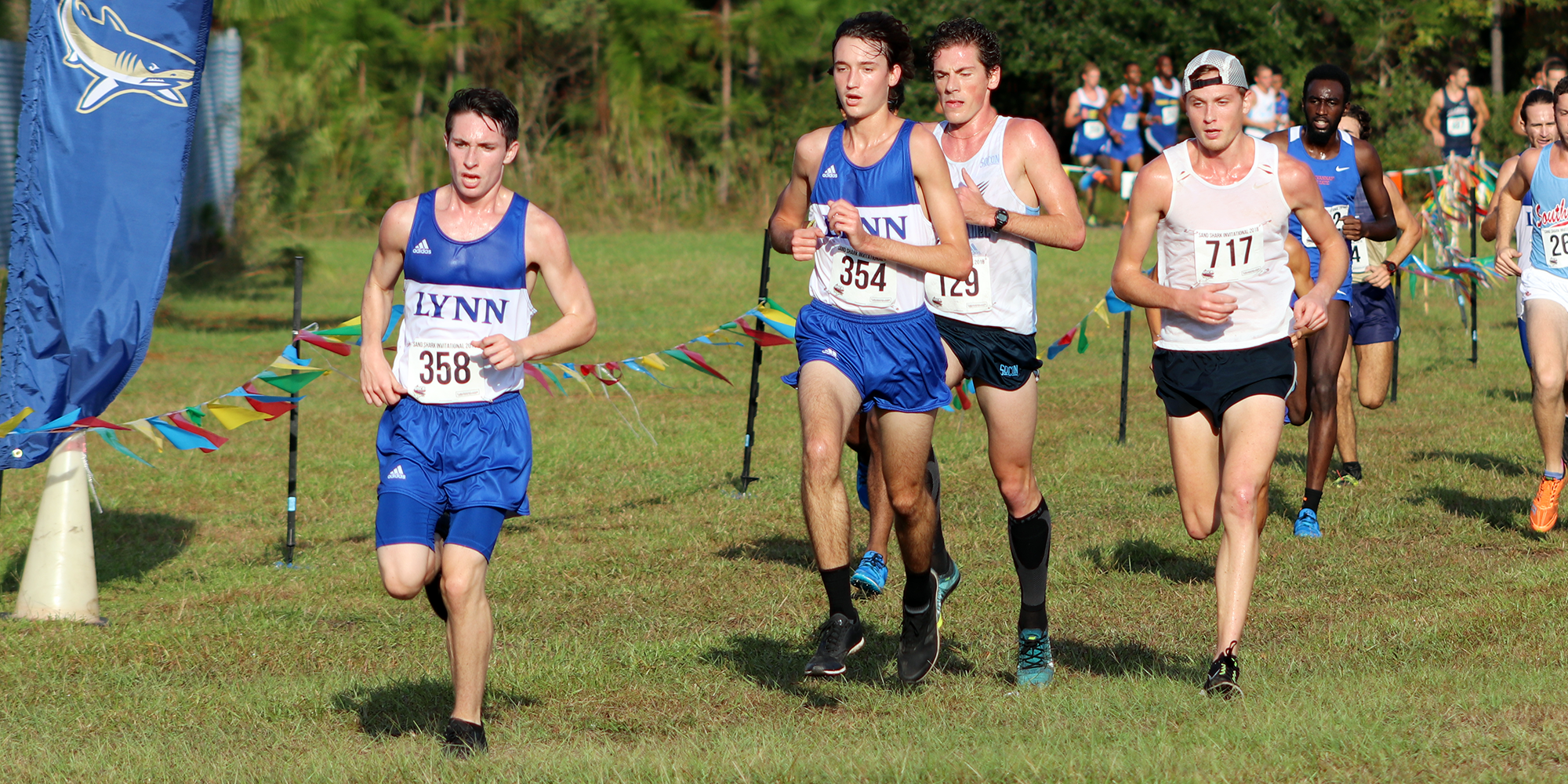 Men's Cross Country Finishes Inaugural Season at NCAA Regionals