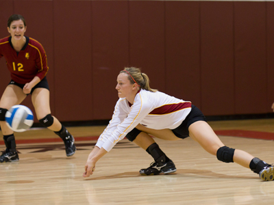Huntey To Be Honored for 1,000 Career Digs