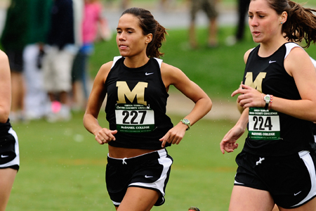 McDaniel finished eighth at CC meet