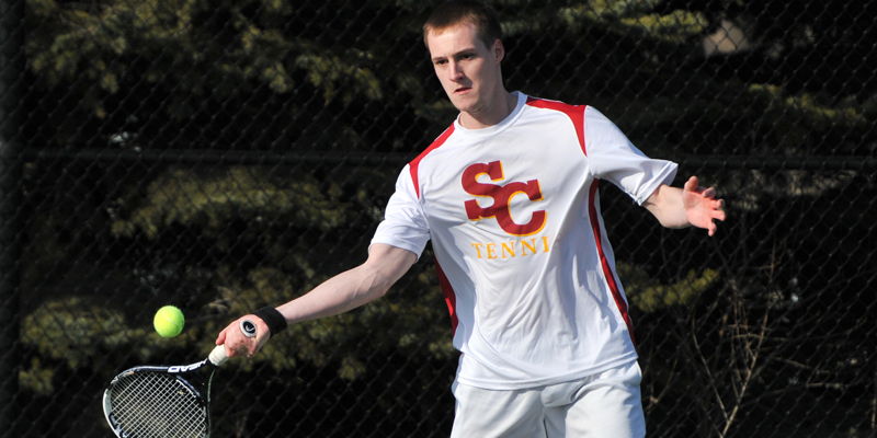 Men's tennis splits in Kansas
