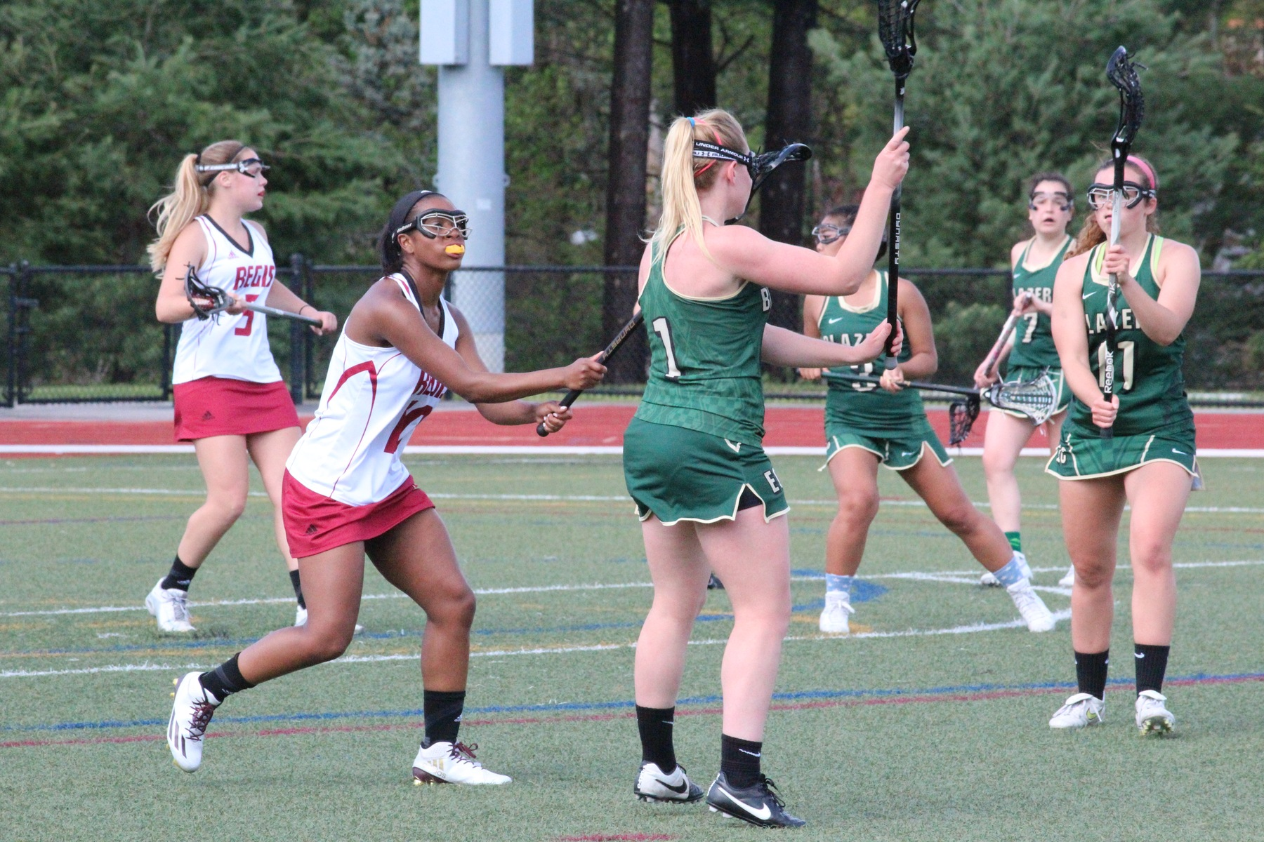 Women's Lacrosse Falls To Regis In NECC Title Game