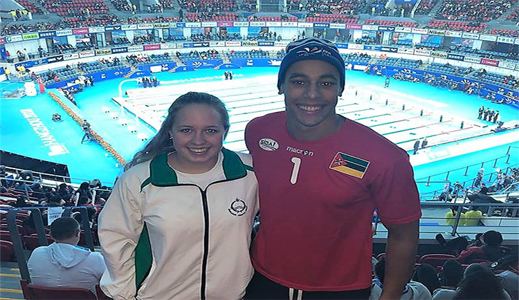 Mars Hill represented at FINA World Swimming Championships