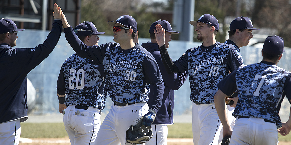 Baseball combines for 33 runs in doubleheader sweep over Valley Forge