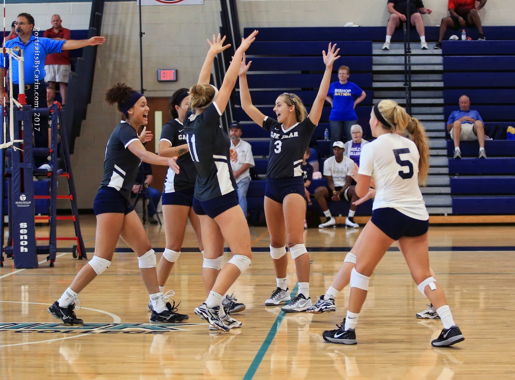 Volleyball Wins Second Match of Weekend