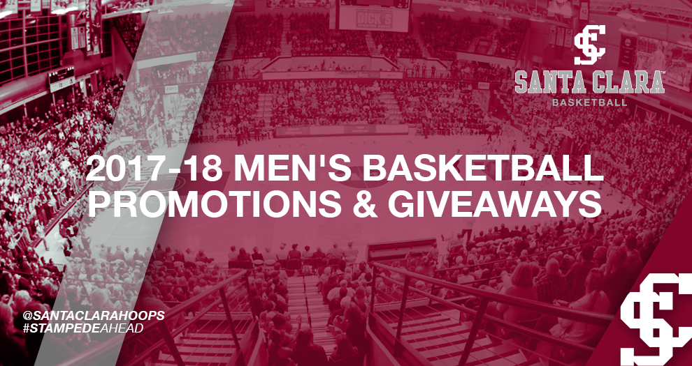 Men's Basketball Promotions and Giveaways Schedule Set