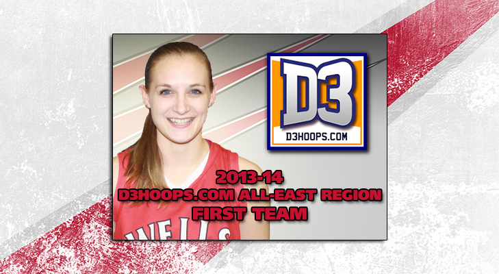 Roser Selected To D3Hoops.com First Team East Region Squad