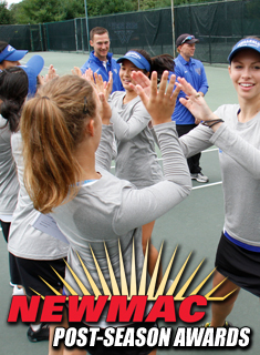 Six Wellesley Tennis Players Earn All-Conference Honors