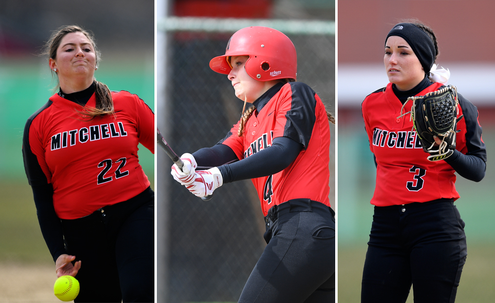 Softball Trio Earns NECC Honors