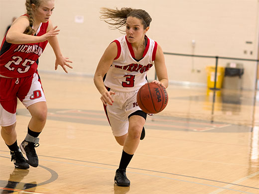 Women's basketball aims for another berth in Centennial semifinals