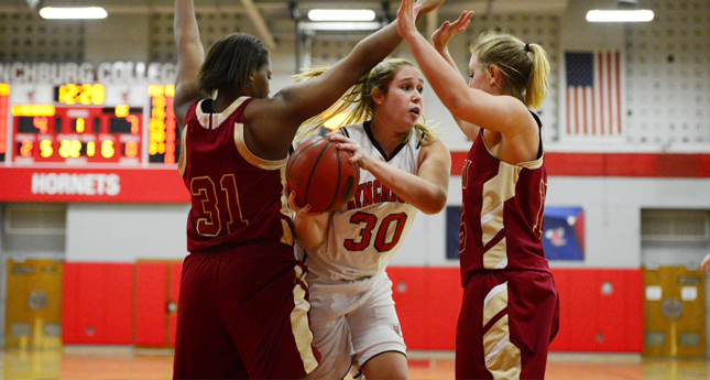 Bridgewater Women Rally for 52-50 win over LC