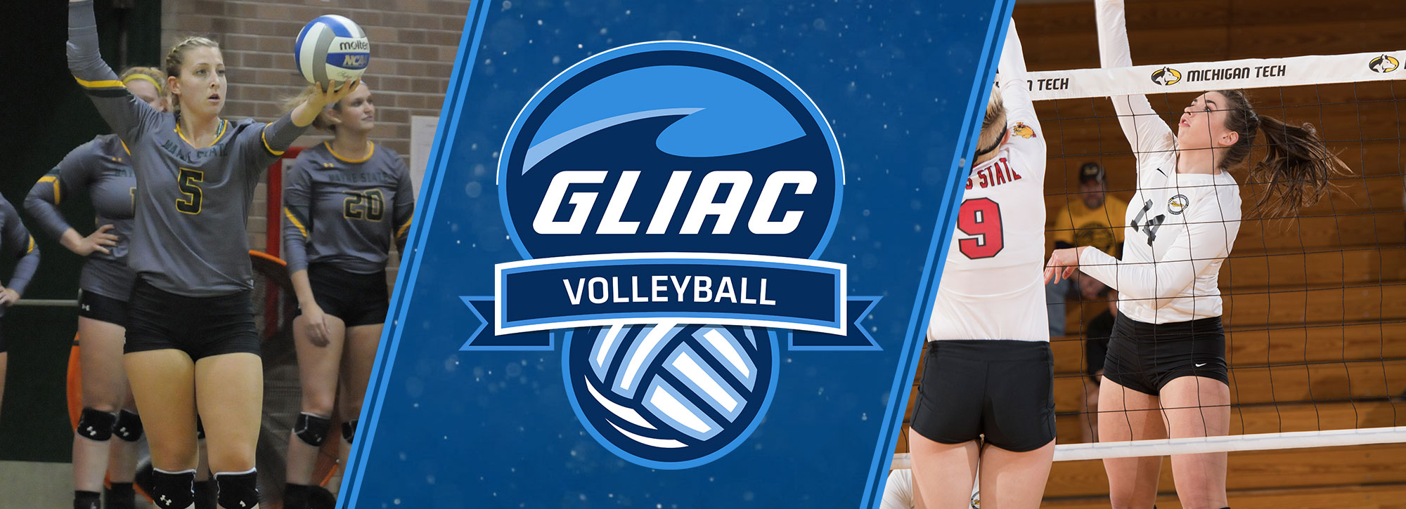Michigan Tech's Ghormley, Wayne State's Richardson Named GLIAC Volleyball Players of the Week