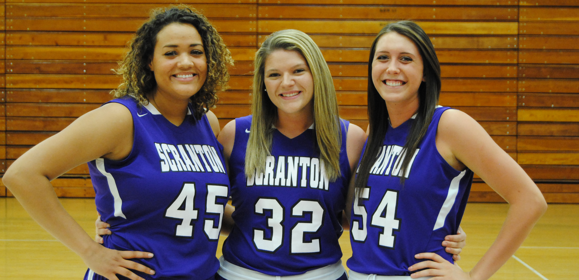 Seniors Alexix Roman, Denise Rizzo and Sarah Payonk will be honored before tip-off on Saturday for their contributions to the Scranton women's basketball program over the last four years.