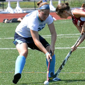 Field Hockey Blanks Simmons, 3-0